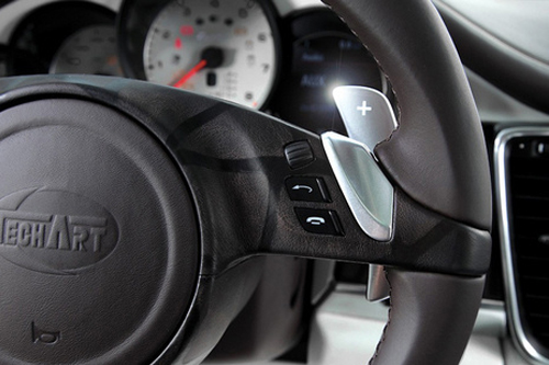 THE ALL NEW PORSCHE SHIFTER PADDLES, ERGONOMIC AND LUXURIOUS
